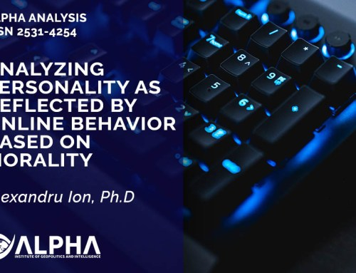 Analyzing personality as reflected by online behavior based on morality