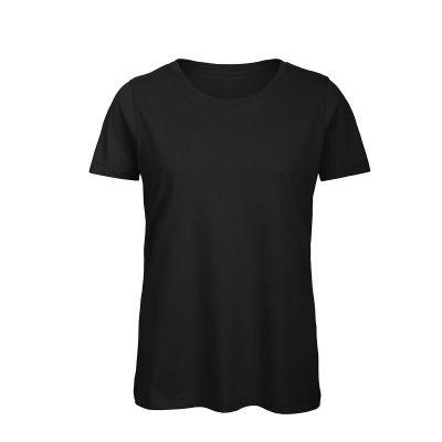 T-shirt maniche corte lavoro donna colore nero