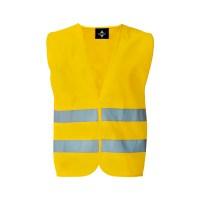 Gilet di Sicurezza Basic colore giallo