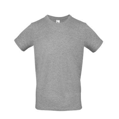 T-shirt girocollo uomo lavoro colore grigio