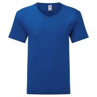 T-shirt manica corta lavoro uomo colore blu royal