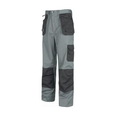Pantalone con fondo dritto colore grigio scuro-grigio