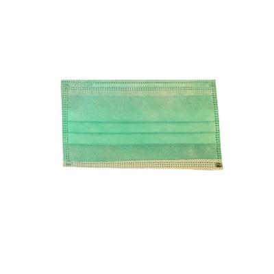 Mascherina chirurgica di tipo IIR LAVABILE certificata CE verde