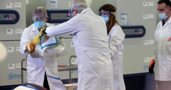 Ποιες ευρωπαϊκές χώρες λαμβάνουν επί του παρόντος εμβόλια Covid-19;