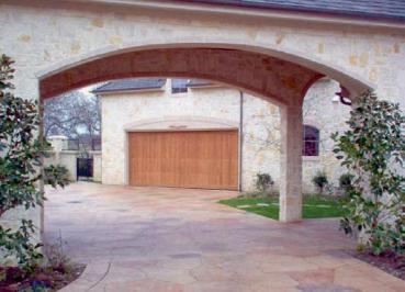 Wood Garage Door 16