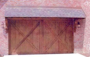 Wood Garage Door 7