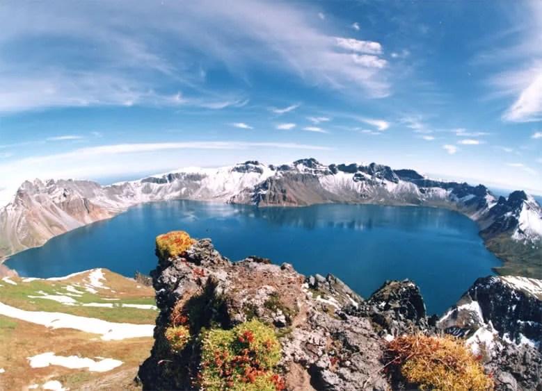 Heaven Lake, Paektu Mountain.