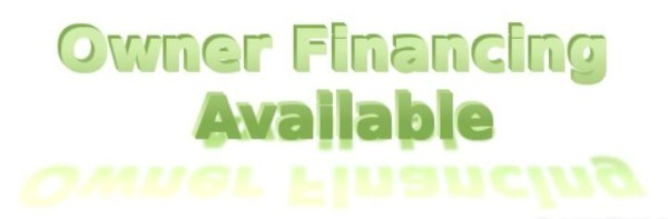Owner Financing Available