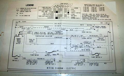 roper gas dryer wiring schematic - wiring diagram, Wiring diagram