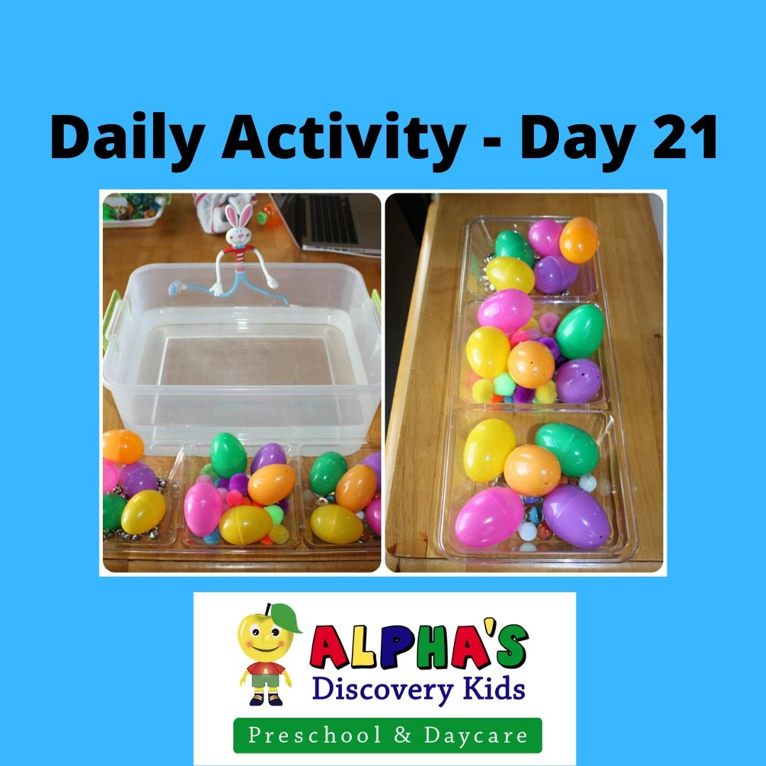 Daily Activity For Kids Day 21 Easter Egg Activity