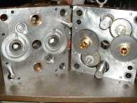 Hasco Unscrewing Molds