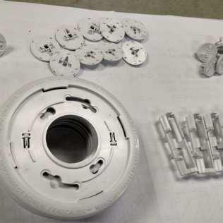 Molded Parts Smart Smoke Detectors
