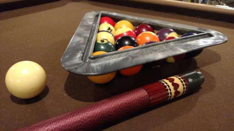 Molded Parts Billiards Rack