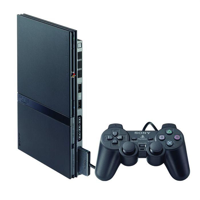 Jeu vidéo Playstation 2 Slim avec Carte Mémoire 8MB + 2 manettes Abidjan Côte D'ivoire