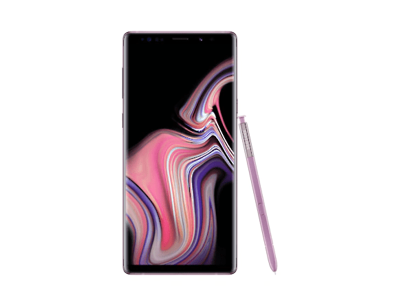 Samsung Galaxy Note 9 128Go de mémoire, 1SIM, 6GB RAM