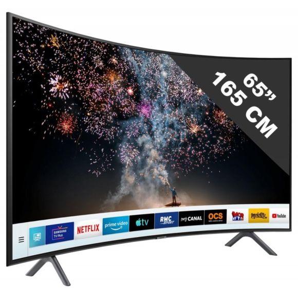 SAMSUNG Tv Led 65 165cm 4K Ultra Hd Téléviseur incurvé SmartTV connecté Abidjan Côte D'ivoire