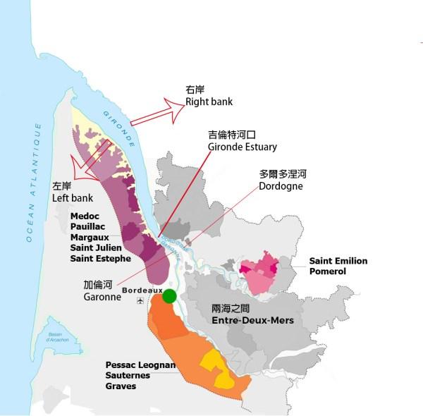 【葡萄酒教學】認識葡萄酒產區 – 波爾多 (Bordeaux)