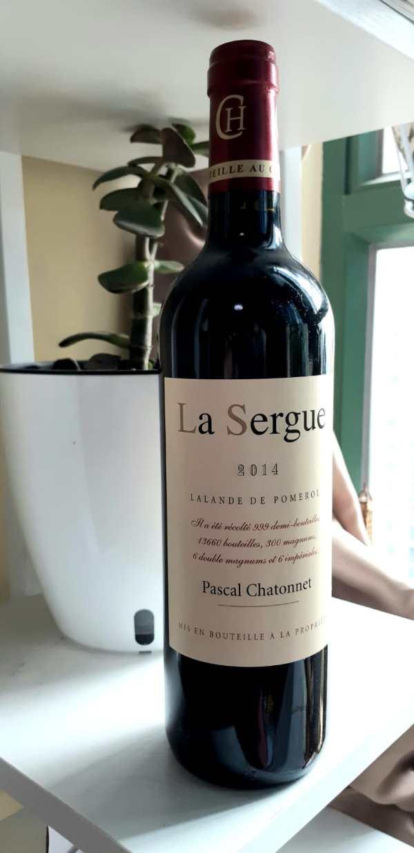 Tasting note – Chateau La Sergue 2014