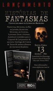 """Coquetel de Lançamento do Livro """"Histórias de Fantasmas – Contos Macabros da Literatura Brasileira"""""""