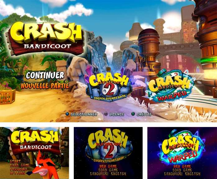Review de Crash Bandicoot N'sane trilogy sur le blog de Bonbon Maléfique.
