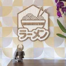 décoration murale intérieur vintage bois japon food ramen traditionnel
