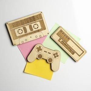 Set de magnets – Nostalgie Génération 80 90