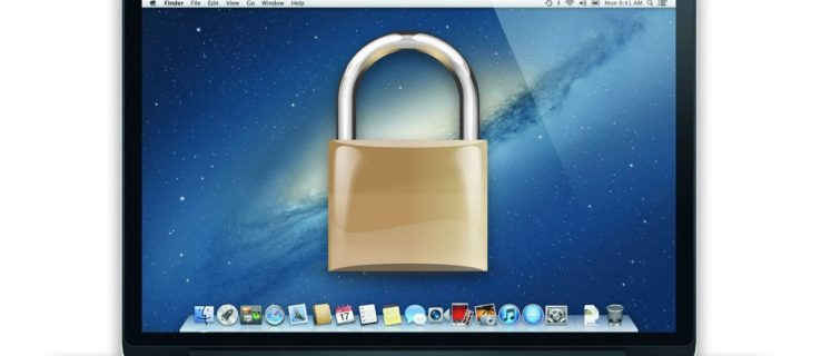Lock Screen Mac OS X