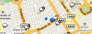 Google Buzz maps