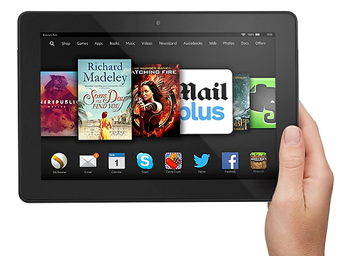 Amazon Kindle Fire HDX (2014) - lighter than Air