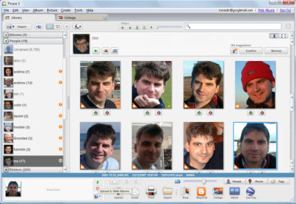 blog picasa face recognition
