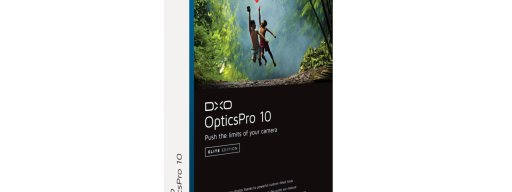 DxO OpticsPro 10 pack shot