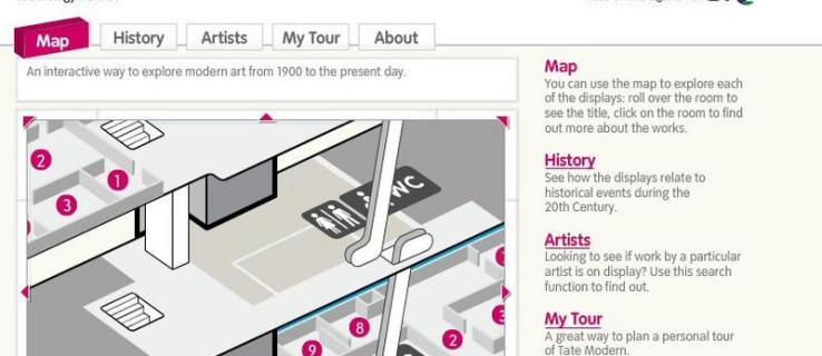 Tate Modern launches virtual tours