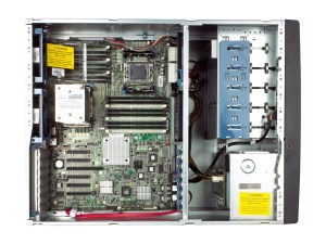 HP ProLiant ML350 G6 internals