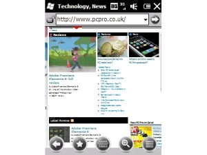 Windows Mobile 6.5 Internet Explorer Mobile