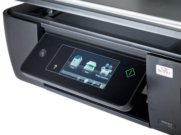 Lexmark Interact S605 touchscreen