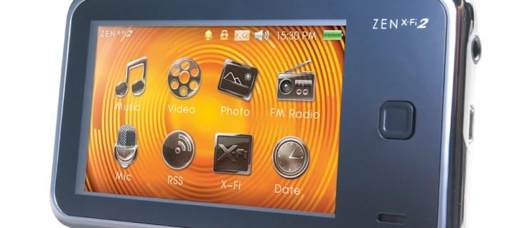 Creative Zen X-Fi 2 review