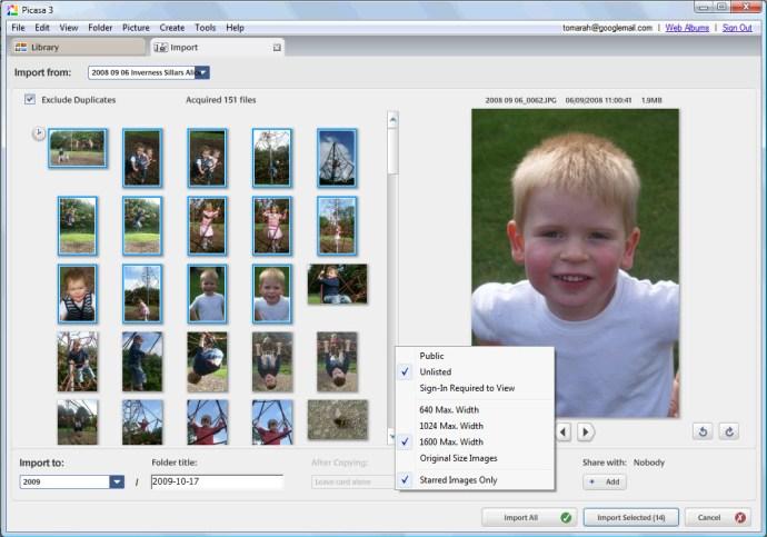 Google Picasa 3.5