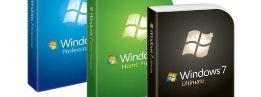 Windows 7 box shots
