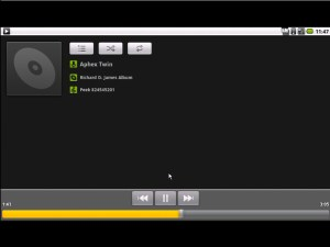 Android netbook music player