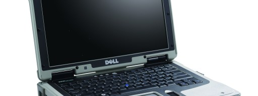 Dell FXR ruggedised laptop