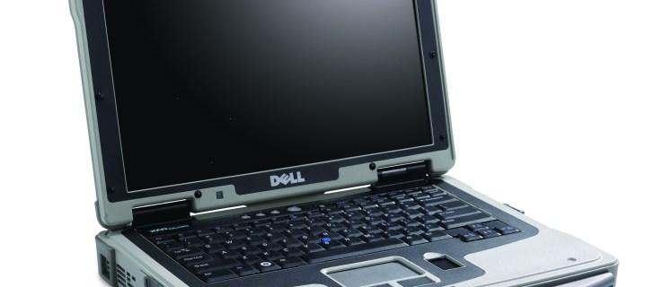 Dell FXR ruggedised laptop