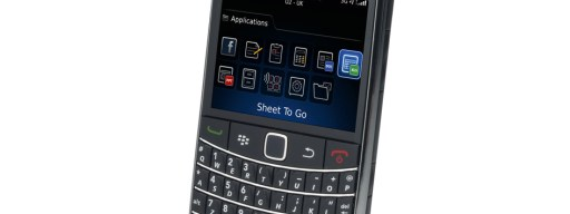 RIM BlackBerry Bold 9700 front