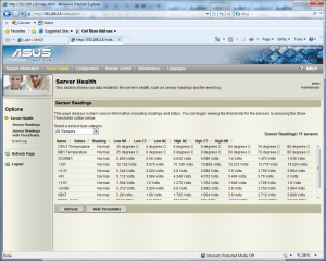 Broadberry CyberServe X34-RS100 screenshot