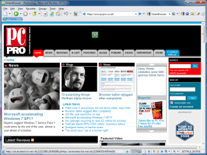 GreenBrowser PC Pro homepage