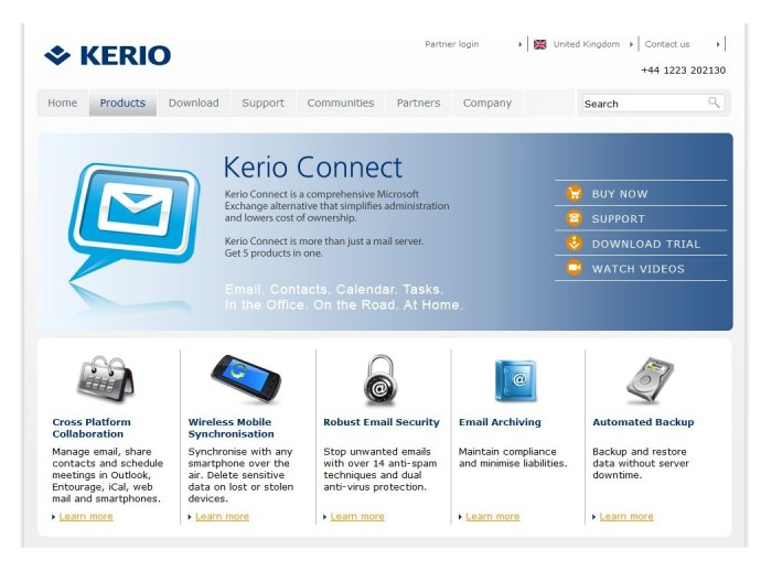 Kerio Connect 7