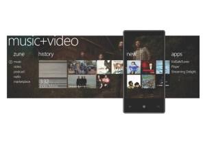Windows Phone 7 Series music