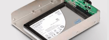 The HDDBOOST can combine any 2.5in SATA SSD and any other conventional hard disk into one virtual drive