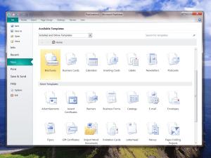 Microsoft Publisher 2010 templates