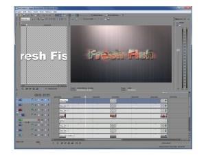 Sony Vegas Movie Studio HD Platinum 10 text effects