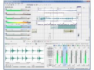 Sony Acid Music Studio 8 main view